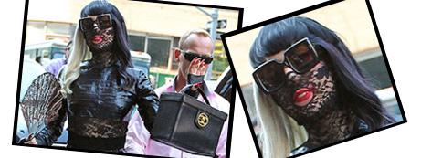 Lady Gaga nas ruas de Nova York
