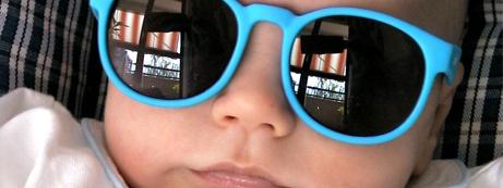 Óculos de sol para bebês