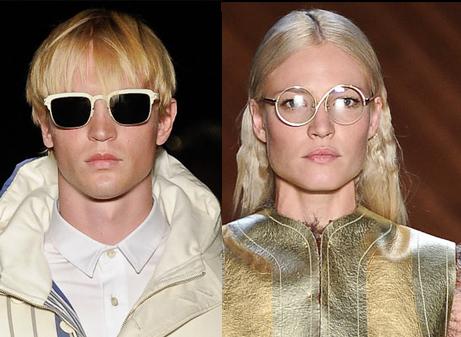 Óculos de sol São Paulo Fashion Week Inverno 2012 - Alexandre Herchcovitch