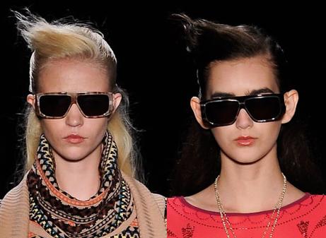 Óculos de sol São Paulo Fashion Week Inverno 2012 - Juliana Jabour