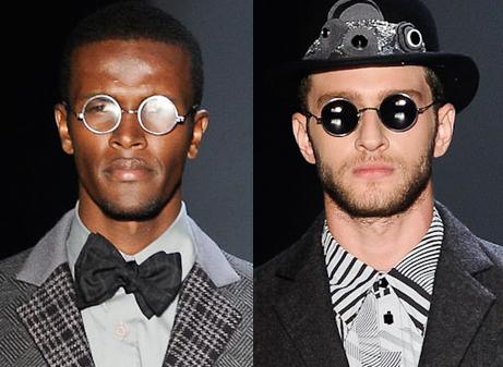 Óculos de sol São Paulo Fashion Week Inverno 2012 - Mário Queiroz