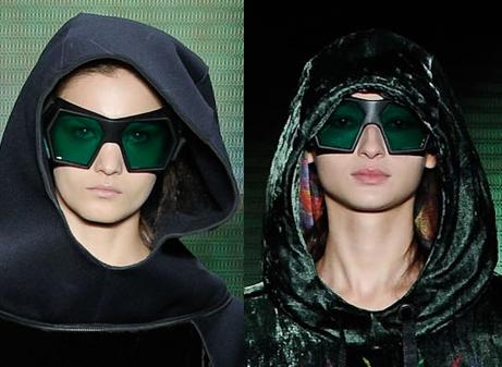 Óculos de sol São Paulo Fashion Week Inverno 2012 - Osklen