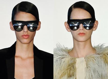 Óculos de sol São Paulo Fashion Week Inverno 2012 - Pedro Lourenço