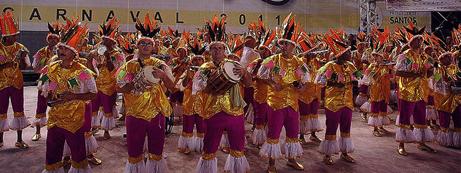 Carnaval Santos Escolas de Samba - Bateria