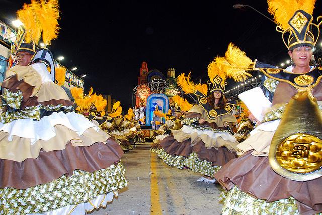 Carnaval Santos Escolas de Samba
