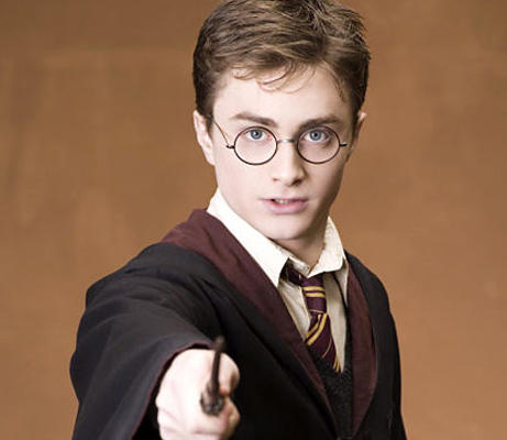 Óculos famosos no cinema - Harry Potter
