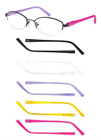 óculos Champion troca haste colorida