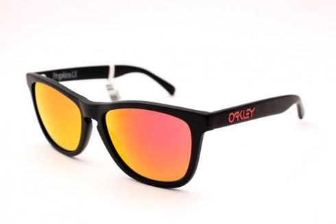 oakley-lente-espelhada-laranja