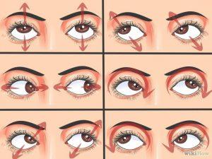 exercicio pra os olhos