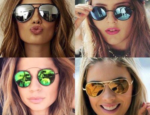 Óculos com lentes espelhadas combinam com tudo?