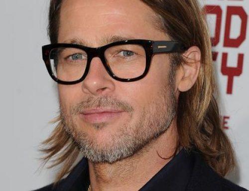Todos os óculos do Brad Pitt. Inspirem-se!