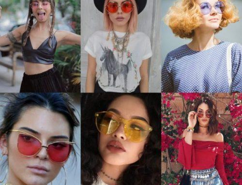 Já se rendeu ao charme das lentes coloridas?