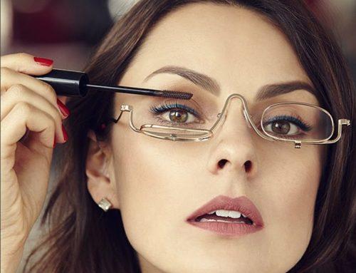 Você já ouviu falar de óculos para maquiagem?