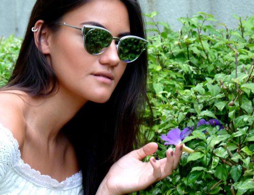 A tendência dos óculos para o outono