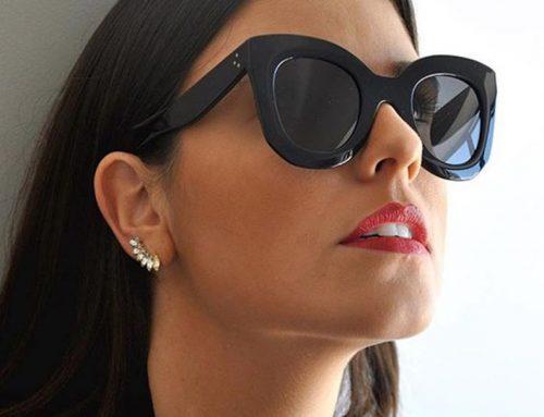 Você encara uma armação de óculos larga?